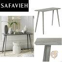 【Safavieh】コンソールテーブル サイドテーブル Slate Grey