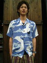 AVANTI アロハシャツ [TSURU/BLUE]
