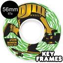 【OJ WHEELS オージェイウィール】56MM MINER KEYFRAME 87A WHEELSソフトウィール クルーザー スケートボード スケボー sk...