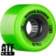 ショッピングホイール 【BONES WHEELS ボーンズ ウィール】ROUGH RIDER 56MM GREEN WHEEL(4pack)ソフトウィール ラフ・ライダー クルージング クルーザー スケートボード スケボー sk8 skateboard