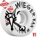 【BONES WHEELS ボーンズ ウィール】【V1】STF PRO WIEGER FADED 52mm WHEELS(4pack)【83B】ウィール スケー...