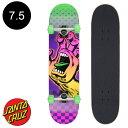 【SANTA CRUZ サンタクルーズ】7.5in x 30.6in AURA HAND SK8 COMPLETE※12歳以上推奨 コンプリート(完成組立品) スケートボード(初心..