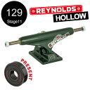 【INDEPENDENT インディペンデント】129 REYNOLDS GC HOLLOW GREEN TRUCKS(Stage11)トラック グリーン ホロー...