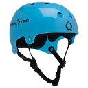 【PRO-TEC プロテック】CLASSIC BUCKY(TRANSLUCENT BLUE)【2-STAGE】【HDPE FLEX】Helmets スケートヘルメットスケートボード スケボー sk8 skateboard BMX inline インライン Bicycle 自転車 10P03Sep16
