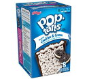 Kellogg's POP-tarts Frosted Cookies & Creme 8ct/14.1oz/400g /ケロッグ ポップタルト クッキー&クリ...