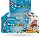 クエストバー プロテインバー ココナッツ&カシュ— 12本入り/ Quest Bar Protein Bar Coconut&Cashew Flavor 12c...