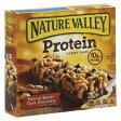 ネイチャーバレー プロテインバー ピーナッツバター ダークチョコレート 5本入り Nature Valley Peanut Butter Dark Chocolate Protein Bars