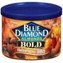 【訳あり】Blue Diamond Almonds Bold Habanero BBQ Almonds 6 Oz Canisterブルーダイアモンド◇ハバネロバーベキュー【容器潰れ】