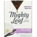 【訳あり・在庫処分】Mighty leaf Tea Vanilla Bean 15ct /マイティーリーフ ティー バニラビーン15袋入り