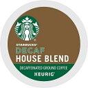 【カフェインレス】スターバックス デカフェ ハウスブレンド Kカップ 48個 /Starbucks Decaf house blend Coffee K-CUP 48ct