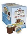 【訳あり・在庫処分】Grove Square Cappuccino, French Vanilla, 24 Count