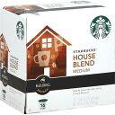 【新登場】Starbucks House Blend【16個入り】 スターバックス ハウスブレンド キューリグ Kカップ K-CUP Starbucks