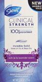 【Ooh-La-La Lavender】シークレットSECRET Clinical Strength Invisible Solid デオドラント クリニカル ストレングス インビジブル ウ・ラ・ラ・ラベンダー デオドラントスティック 2.6oz