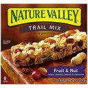 ネイチャーバレー グラノーラバー フルーツ&ナッツ チューイー トレールミックス 6本入り Nature Valley Granola Bars Chewy Trail Mix Fruit Nut