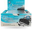 クエストバー プロテインバー クッキー&クリーム 12本入り/ Quest Bar Protein Bar Cookies & Cream Flavor 12c...