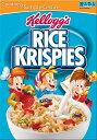 【訳あり/賞味期限2017年4月迄】Kellogg's ケロッグ ライスクリスピー シリアル/ Kellogg's Rice Krispies 12oz 340g