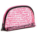 ショッピングアグ 【訳あり】Victoria's Secret Clear Graffiti Cosmetic Bag ヴィクトリアシークレット クリア グラフィティ ポーチ【数量限定・特別ご提供品】