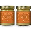 【送料無料お得な2個セット】Ghee ギーバター266g フランス産 高級セーブル (Sevre) バター使用 グラスフェッド ギーバター ギーオイル Grass-Fed Ghee Butter レインボーファームズ