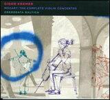 【当店専用トの3倍)+メール便】ギドン?クレーメルGidon Kremer/MOZART / Complete Violin Concertos (輸入盤CD)(ギドン?クレーメル)