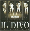 【輸入盤CD】【ネコポス送料無料】Il Divo / An Evening With Il Divo: Live In Barcelona (w/DVD) (イル・ディーヴォ)