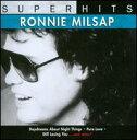 CD - 【メール便送料無料】Ronnie Milsap / Super Hits (輸入盤CD) (ロニー・ミルサップ)