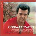 摇滚乐 - 【メール便送料無料】Conway Twitty / Icon (輸入盤CD)(コンウェイ・トゥイッティ)