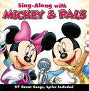 【メール便送料無料】Sing-Along / Sing-Along With Mickey & Pals (輸入盤CD)