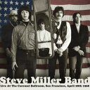 CD, DVD, 樂器 - 【メール便送料無料】Steve Miller / Live At The Carousel Ballroom San Francisco April (輸入盤CD)【2014/2/4発売】( スティーヴ・ミラー)