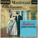 【メール便送料無料】Mantovani / Waltz Encores/American Waltzes (輸入盤CD) (マントヴァーニ)