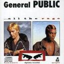【メール便送料無料】General Public / All The Rage (輸入盤CD) (ジェネラル・パブリック)