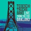【メール便送料無料】Tedeschi Trucks Band / Live From The Fox Oakland (w/DVD) (輸入盤CD)【K2017...
