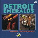 R & B, Disco Music - 【メール便送料無料】Detroit Emeralds / Do Me Right/You Want It (輸入盤CD)