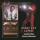 民俗, 乡村 - 【メール便送料無料】Jerry Lee Lewis / Country Class/Country Memories (輸入盤CD)( ジェリー・リー・ルイス)