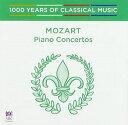 【メール便送料無料】VA / Mozart: Piano Concertos - 1000 Years Of Classical (輸入盤CD)【K2016/8/12発売】
