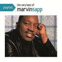 Gospel - 【メール便送料無料】Marvin Sapp / Playlist: The Very Best Of Marvin Sapp (輸入盤CD)(マーヴィン・サップ)