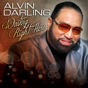Gospel - 【メール便送料無料】Alvin Darling / Waiting Right Here (輸入盤CD)(アルヴィン・ダーリング)