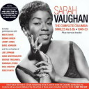 【輸入盤CD】Sarah Vaughan / Complete Columbia Singles As Bs 1949-53【K2020/1/17発売】(サラ ヴォーン)