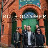 【輸入盤CD】【ネコポス送料無料】Blue October / Live From Manchester【K2019/11/29発売】(ブルー・オクトーバー)