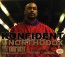 【メール便送料無料】KONFIDENT / UNORTHODOX[CD]