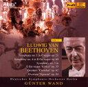 其它 - 【メール便送料無料】ベートーヴェン:交響曲第1番・第4番・第3番「英雄」 他 ヴァント / ベルリン・ドイツso.[CD][2枚組]
