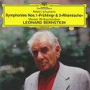 Symphony - 【メール便送料無料】シューマン:交響曲第1番「春」・第3番「ライン」 バーンスタイン / VPO[CD]