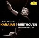 Symphony - 【メール便送料無料】ベートーヴェン:交響曲第1番・第2番 カラヤン / BPO[CD][初回出荷限定盤(初回限定)]