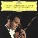 古典 - 【メール便送料無料】ブラームス:ヴァイオリン協奏曲 / ハイドンの主題による変奏曲 カラヤン / BPO フェラス(VN)[CD]