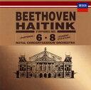 【国内盤CD】【ネコポス100円】ベートーヴェン:交響曲第6番「田園」・第8番 他 ハイティンク / RCO