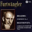 Symphony - 【メール便送料無料】 ブラームス:交響曲第4番 他 フルトヴェングラー / BPO[CD]【K2016/3/23発売】