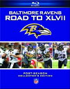 【送料無料】NFL: Baltimore Ravens Road To XLVII (2PC)(輸入盤ブルーレイ)