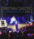 【メール便送料無料】CRISTIAN CASTRO / EN PRIMERA FILA: DIA 2 (輸入盤DVD)