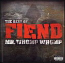 Other - 【メール便送料無料】Fiend / Mr. Whomp Whomp...Best of Fiend (輸入盤CD)(フィエンド)