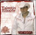 【Aポイント+メール便送料無料】ヴァレンティン・エリザルデ Valentin Elizalde / Vencedor (輸入盤CD)