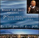Gospel - 【メール便送料無料】T.D. Jakes / Woman Thou Art Loosed: Worship 2002 - Run to the Water...The River Within (輸入盤CD)(T.D.ジェイクス)